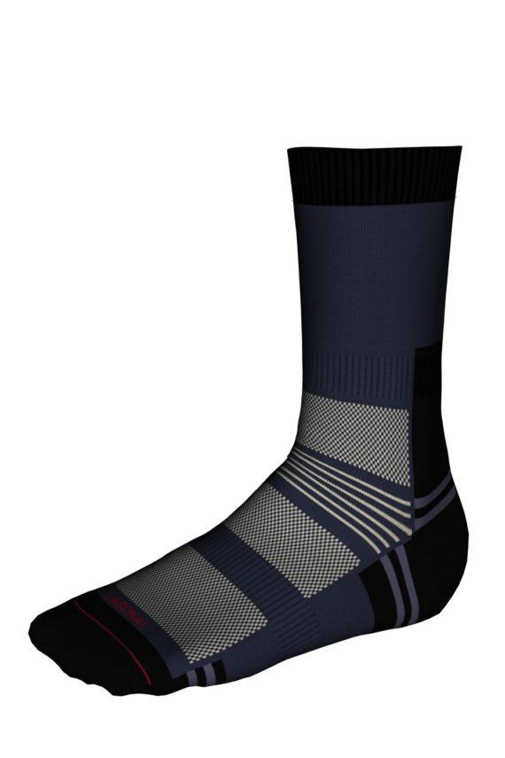 Mi-chaussettes Randonnée Sans couture Coolmax®