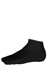 Mini-socquettes Sport coton Coolmax® Homme Labonal couleur noir