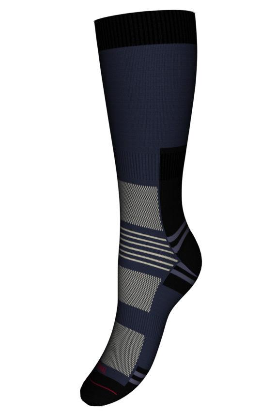 Mi-chaussettes Randonnée Sans couture Coolmax® Femme