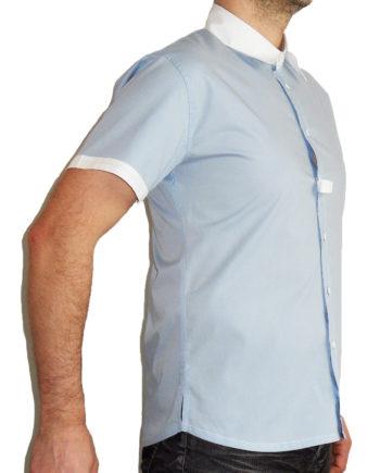 Chemise de concours en coton bio pour homme