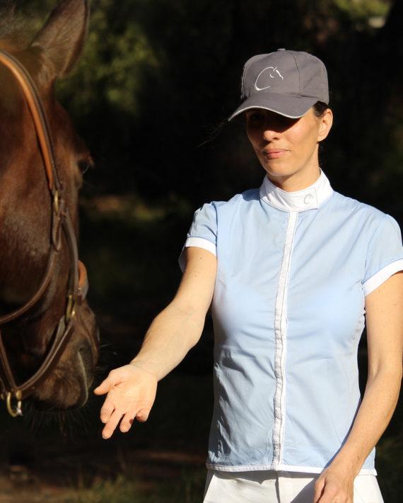 chemise de concours pour cavalière Ninon