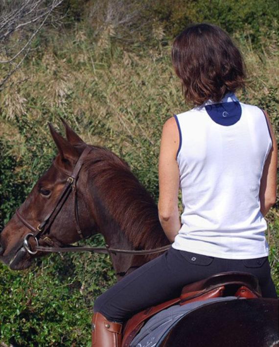 Polo de concours équitation