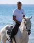 Polo de concours pour cavalier