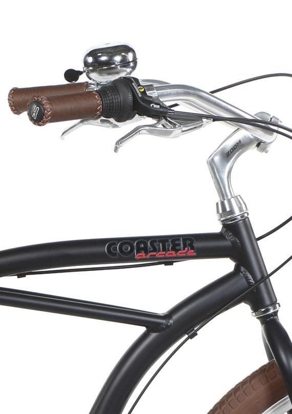 Vélo Beach Coaster Noir Mat Homme