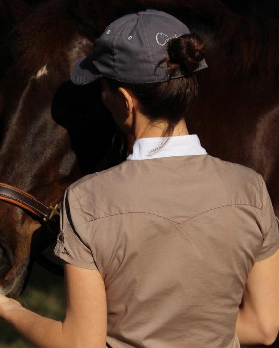 chemise de concours pour cavalière