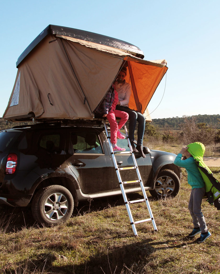 tente de toit Naitup Quatro nue
