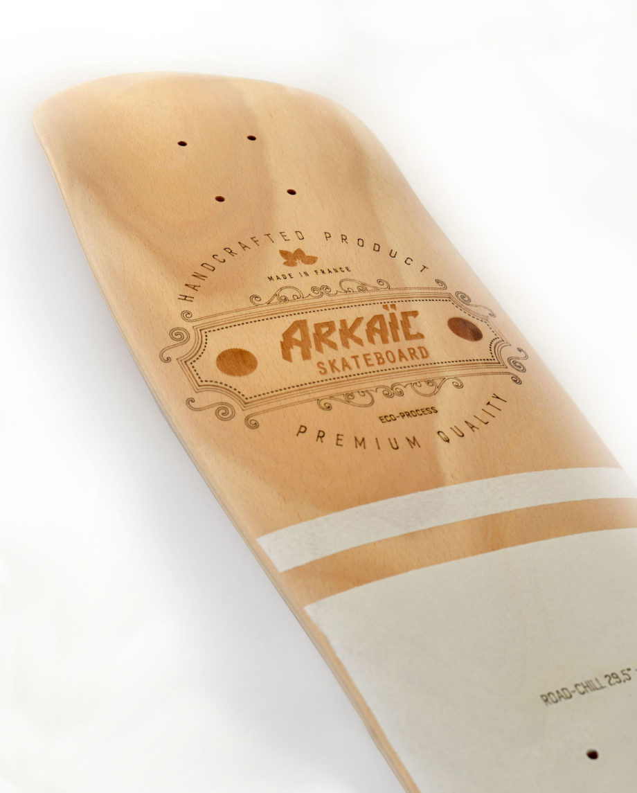 Road-chill cruiser Arkaïc Skateboard fabriqué en france