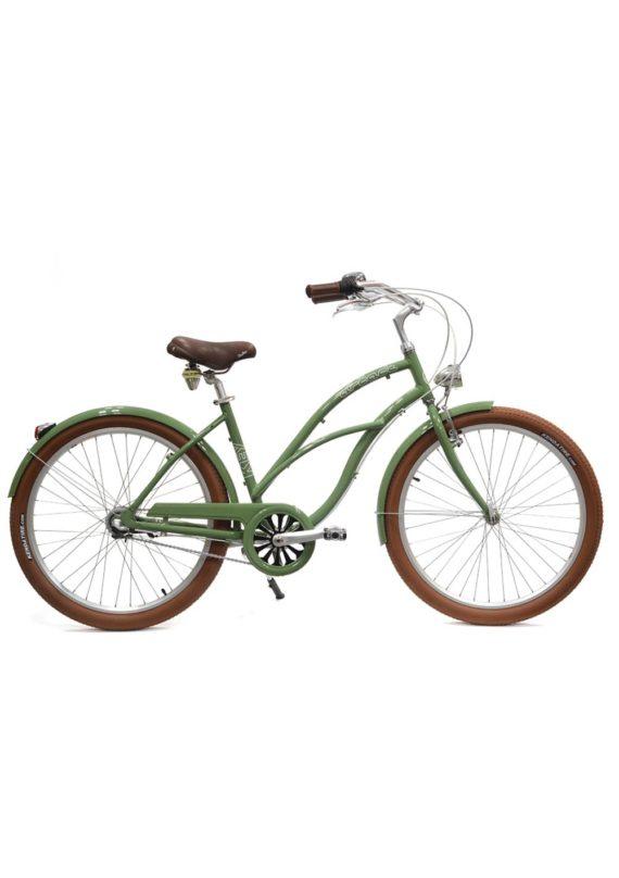 Velo_Beach_Coaster_femme_Vert_ARCADE_CYCLES
