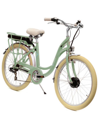 VAE vélo électrique E-colors Vert de gris Arcade cycles