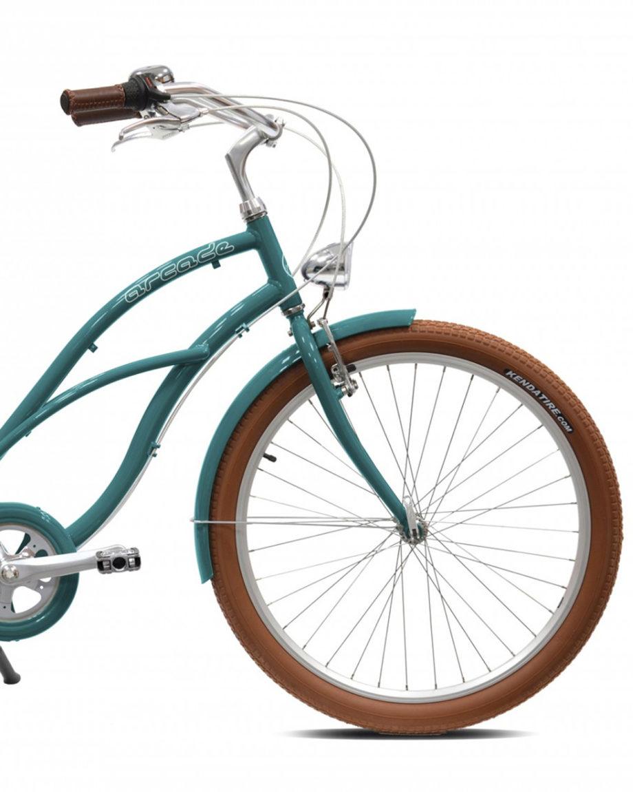 Vélo Beach Key West Vert Femme by Arcade Cycles
