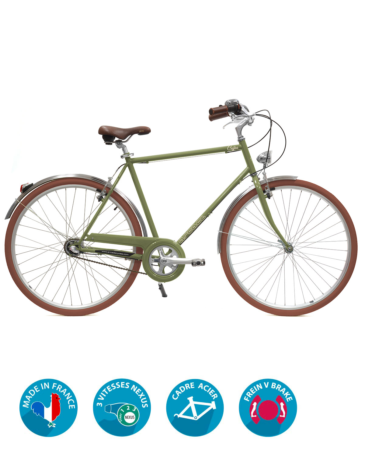 velo homme coffee s3 homme Arcade Cycles