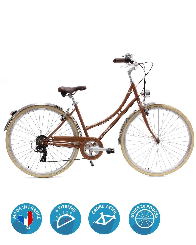 vélo ville femme cofee S6 femme arcade cycles