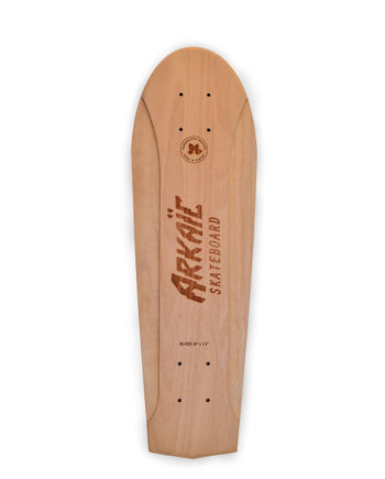 No Kick Vintage series Arkaic concept skateboard made in france fait-main