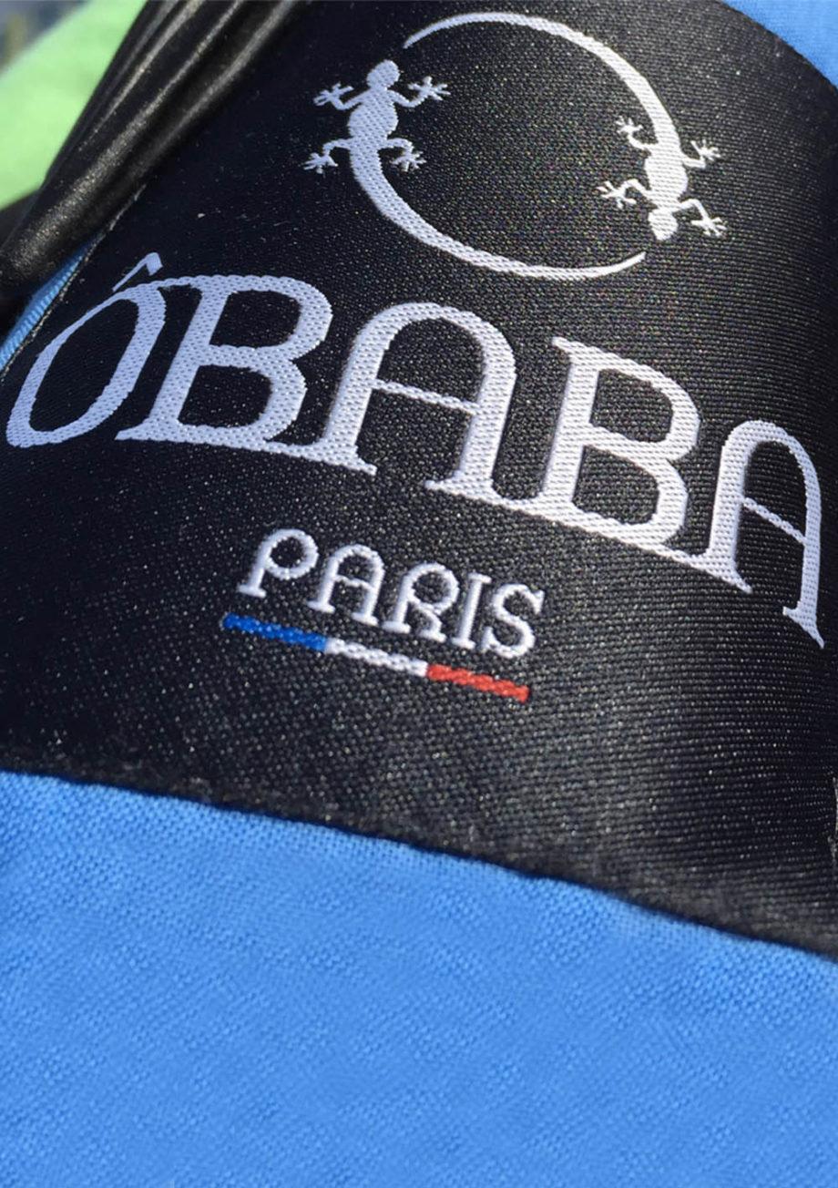 Drap de plage XXL+ Obâba Paris la serviette de plage qui ne s'envole pas