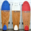 Skateboard type Cruiser Squête 100% made in France 3 couleurs