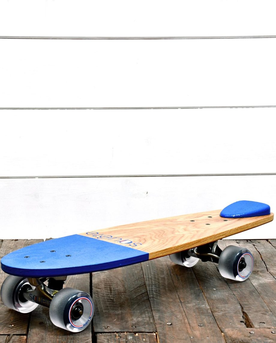 Skateboard Cruiser en bois massif Squête
