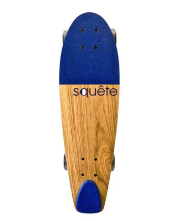 Skateboard type Cruiser Bleu Squête 100% made in France