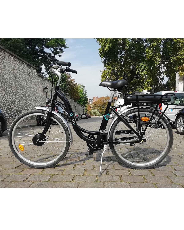 vélo électrique e color noir arcade cycles