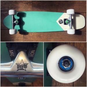 Skateboard Cruiser Color rouge by Goldfinger
