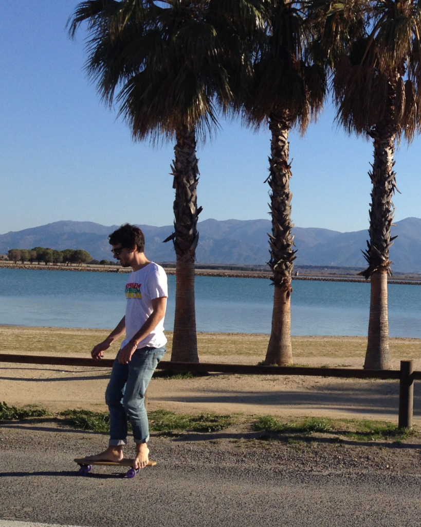 """Skateboard Cruiser Narrow 24"""" by Suji Skateboards"""