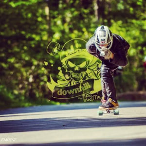 Skateboard Downhill Pesca Bordza longboard descente