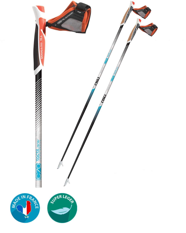 Bâtons de marche nordique Tactil C70 TSL Outdoor - My Green Sport