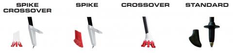 Type d'embouts tSl Outdoor pour les batons de marche C100 et C70