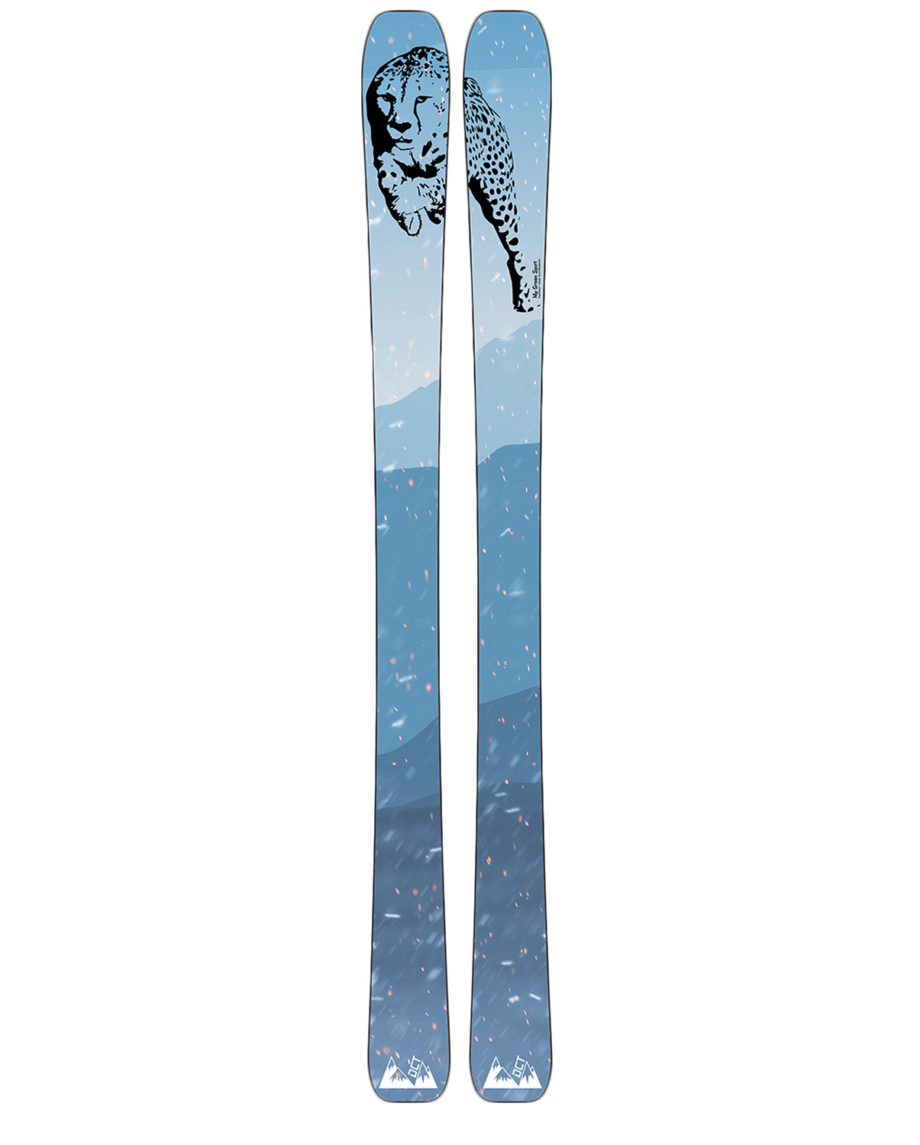 Ski freeride 172 édition limitée MGS/DCT skis en bois