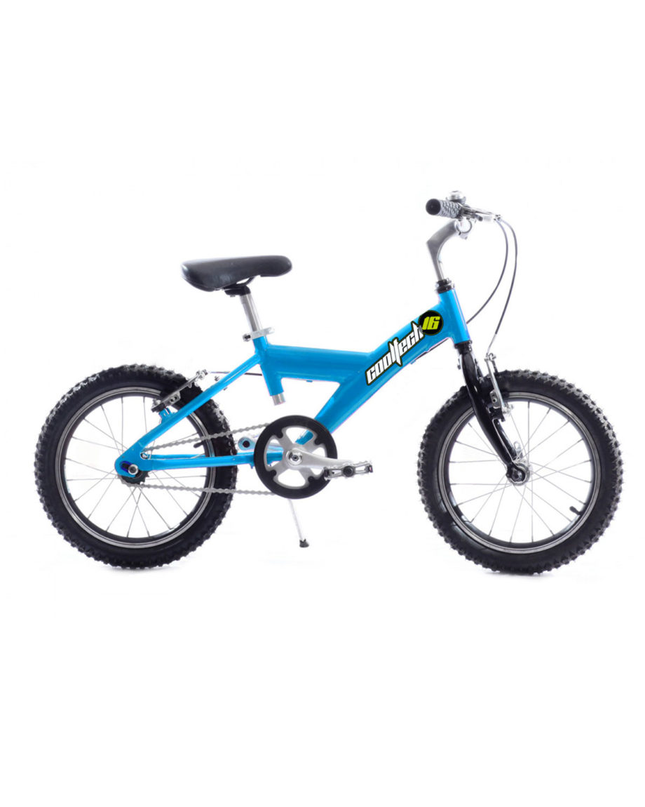 Velo enfant cooltech 16 pouces Arcade Cycles made in France Bleu