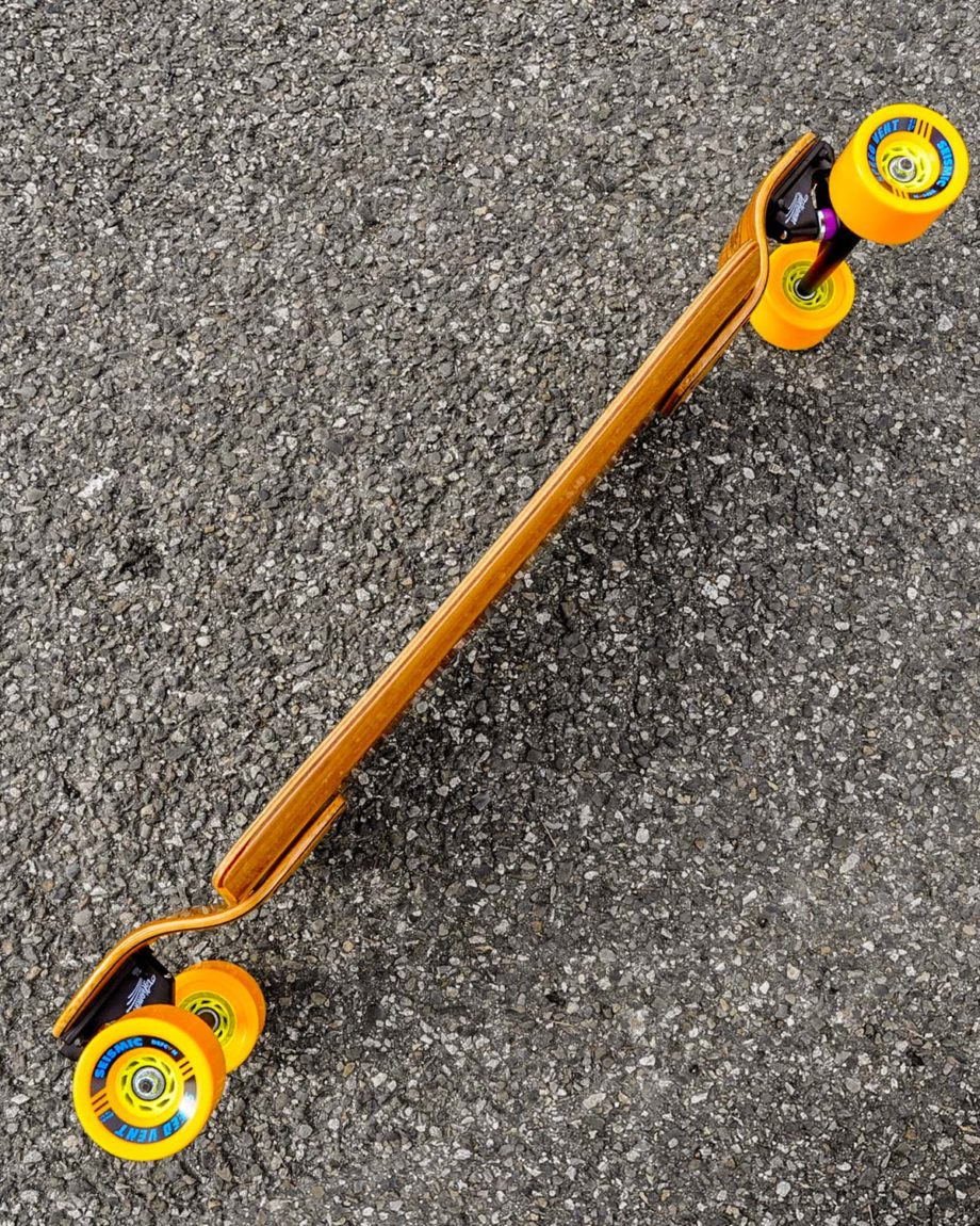 Skateboard Cruiser Space Rocket Seven Suns
