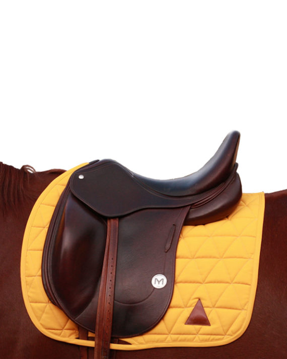 tapis-de-selle_dressage_tacante_made-in-france_jaune_or