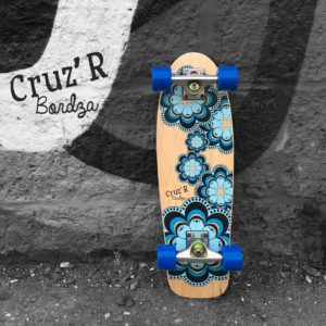 skateboard cruiser CRUZ'R by Bordza skate made in france