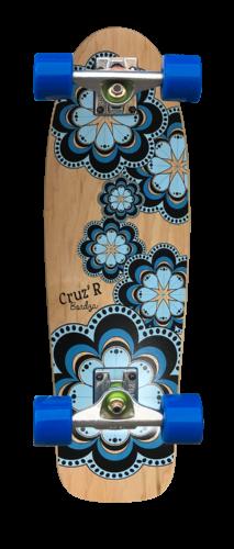 skateboard cruiser CRUZ'R by Bordza skate made in france