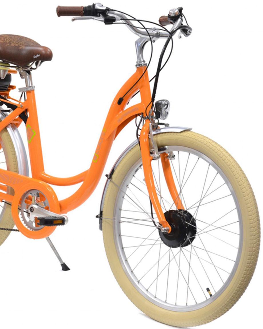 VAE E-colors Mandarine Arcade cycles
