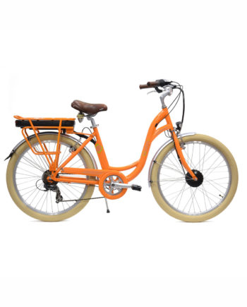 VAE E-colors Mandarine Arcade cycles