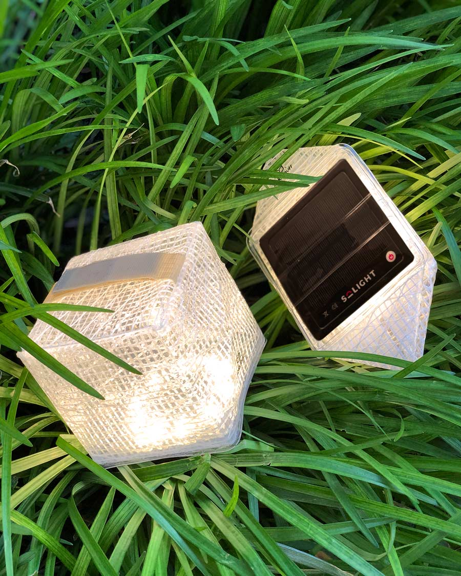 Lampe solaire SolarPuff by Solight Design