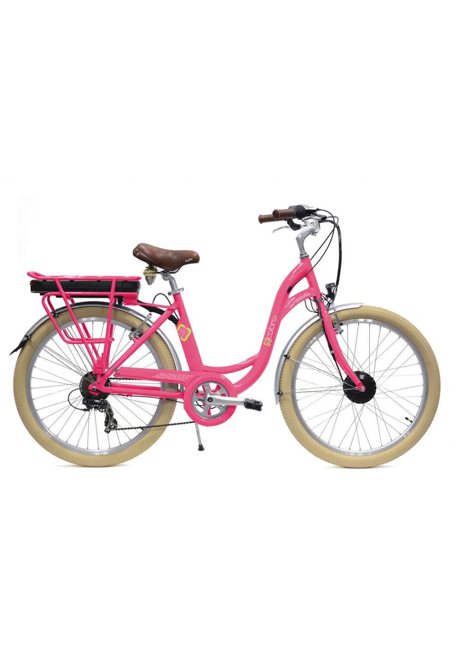 VAE Vélo électrique E-colors Rose Arcade cycles Made in france
