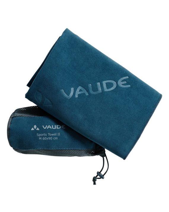 Serviette Sport Towel M Vaude Bleu Saphire