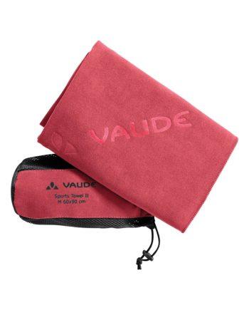 Serviette Sport Towel M Vaude Rose Flame