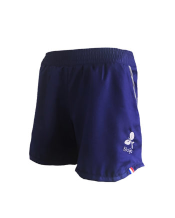 short sport technique femme boija bleu made in france éco-conçu