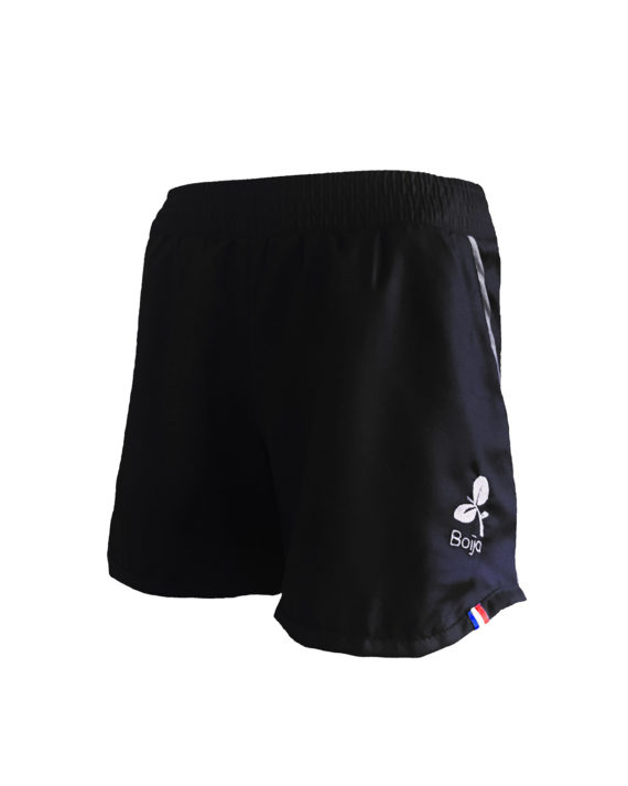 short sport technique femme boija noir made in france éco-conçu