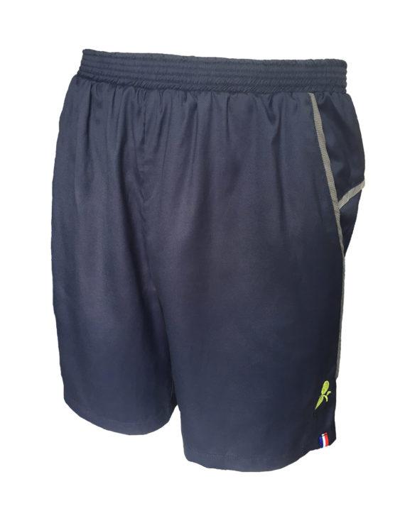 short sport technique homme boija bleu made in france éco-conçu