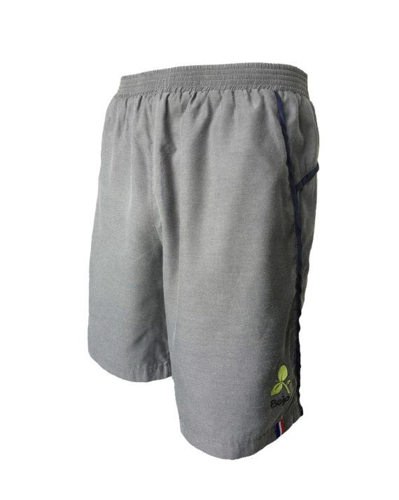 short sport technique homme boija gris made in france éco-conçu
