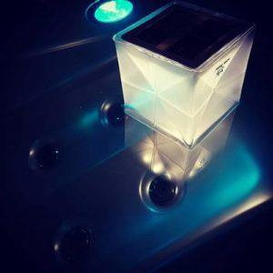 lampe solaire waterproof solar helix pliable SoLight Design