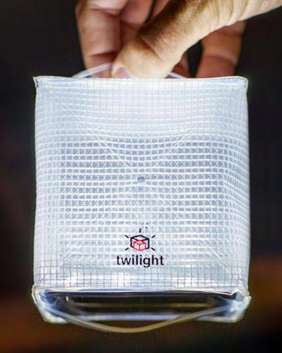 lampe solaire twilight pliable SoLight Design
