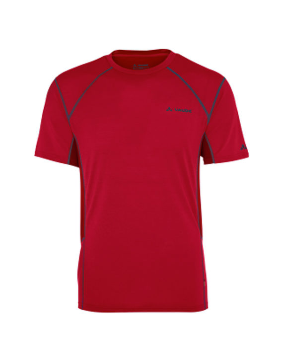 tshirt-technique-sport-homme-manches-courtes-me-signpost-rouge-vaude_face