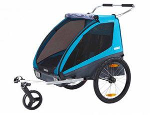 Remorque Vélo Thule COASTER XT pour 2 enfants