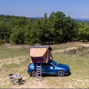 Tente de toit Duo et Quatro NaitUp tente hussarde