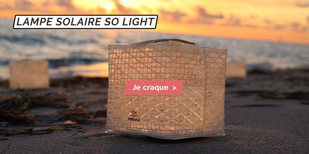 lampe solaire so light lanterne solaire ecologique pas cher sans pile