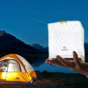 lampe solaire camping solarpuff